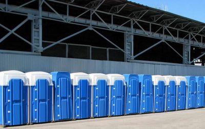 Готовые туалетные кабины