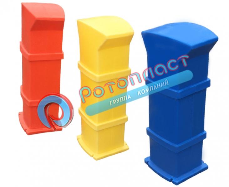 сервисные колонки из пластика - фото 1