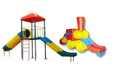 Детские пластмассовые комплексы