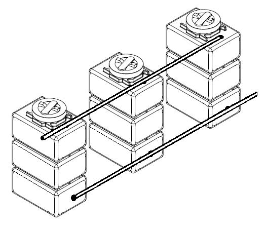 Батарея баков для топлива